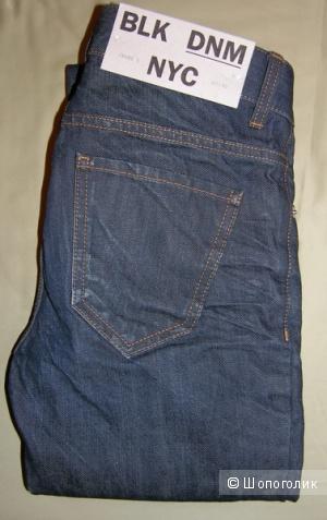 Джинсы BLK DNM Slim Straight Fit, размер: 27Х32 - Новые