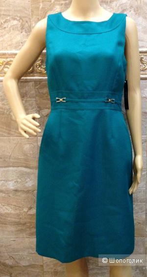 красивейшее платье от TAHARI для работы и каждый день р.44 Новое.Оригинал
