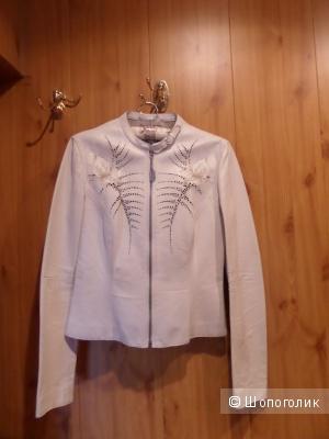 Летняя кожаная куртка