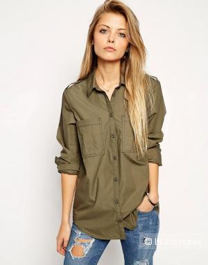 Стильная рубашка цвета хаки Asos
