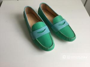 Продаю новые кожаные мокасины бренда Cole Haan (США) 37-37,5 р.