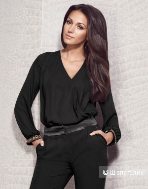 Шикарная блузка с запАхом Michelle Keegan Loves Lipsy