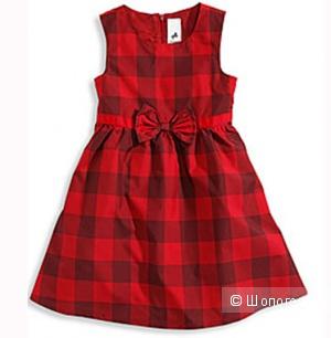 НОВОЕ платье нарядное красного цвета торговой марки Palomino от C&A
