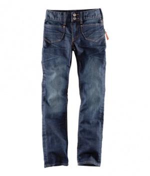 Новые джинсы прямого покроя торговой марки H&M