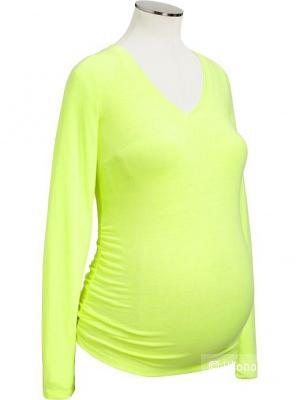 НОВАЯ кофточка для беременных ярко-салатового цвета OldNavy