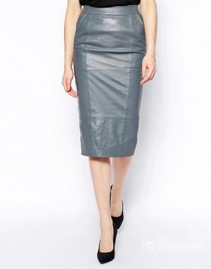 Кожаная юбка карандаш Urbancode