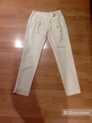 Новые брюки 100% натуральный шелк