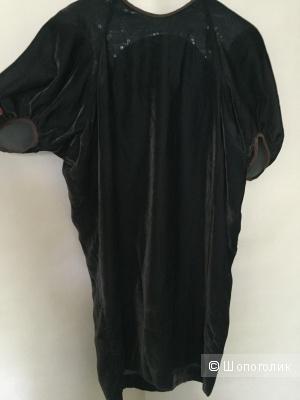 Платье бархатное , Kolor , размер 44