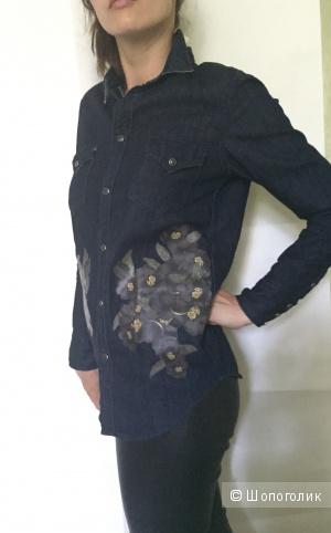 Джинсовая рубашка Toga 44 размер