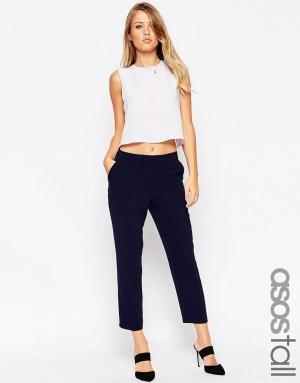 Новые креповые брюки-сигареты ASOS TALL для высоких. Размер 40 (рус 44).
