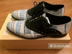 Мужские ботинки Galliano (yoox) р-р 42