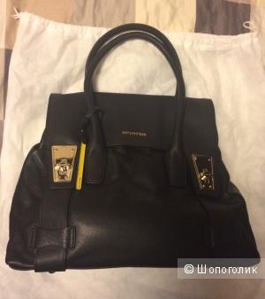 Новая стильная кожаная сумка Cromia, Италия