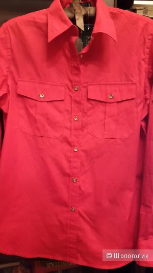 Lauren Ralph Lauren рубашка S большемерит, замеры ниже