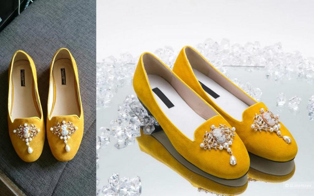 Лоферы Dolce Gabbana реплика хорошего качество 38 размер