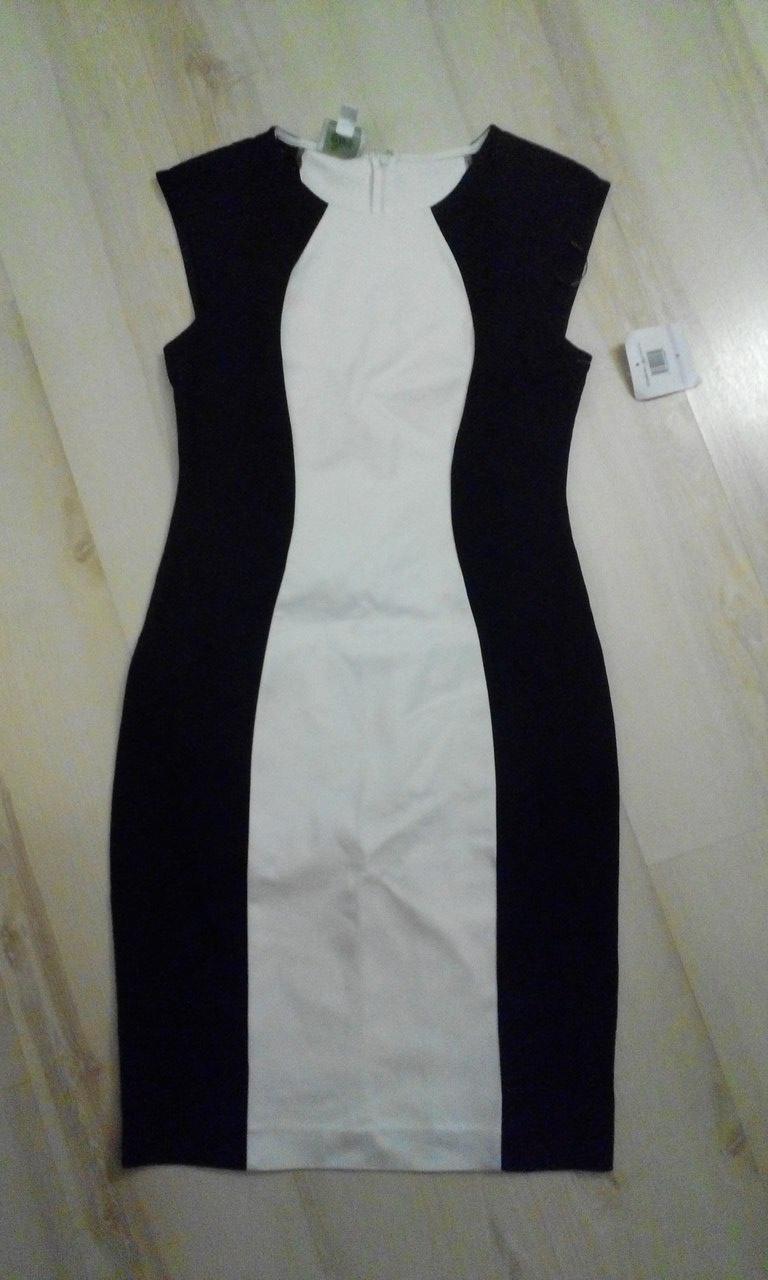 Платье колор-блок Donna Morgan