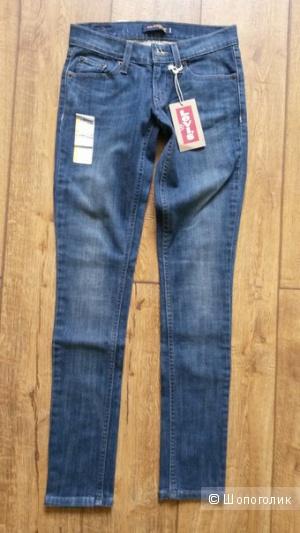 Новые джинсы Levis. Размер 0.
