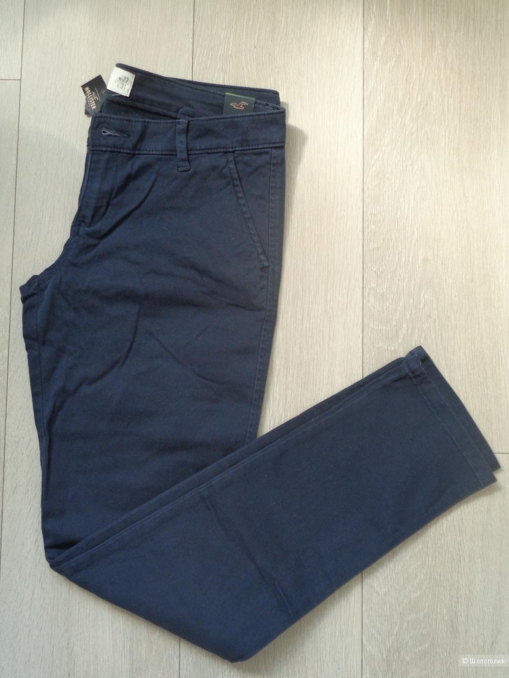 Новые джинсы-чиносы HOLLISTER 5R (44-46 росс)