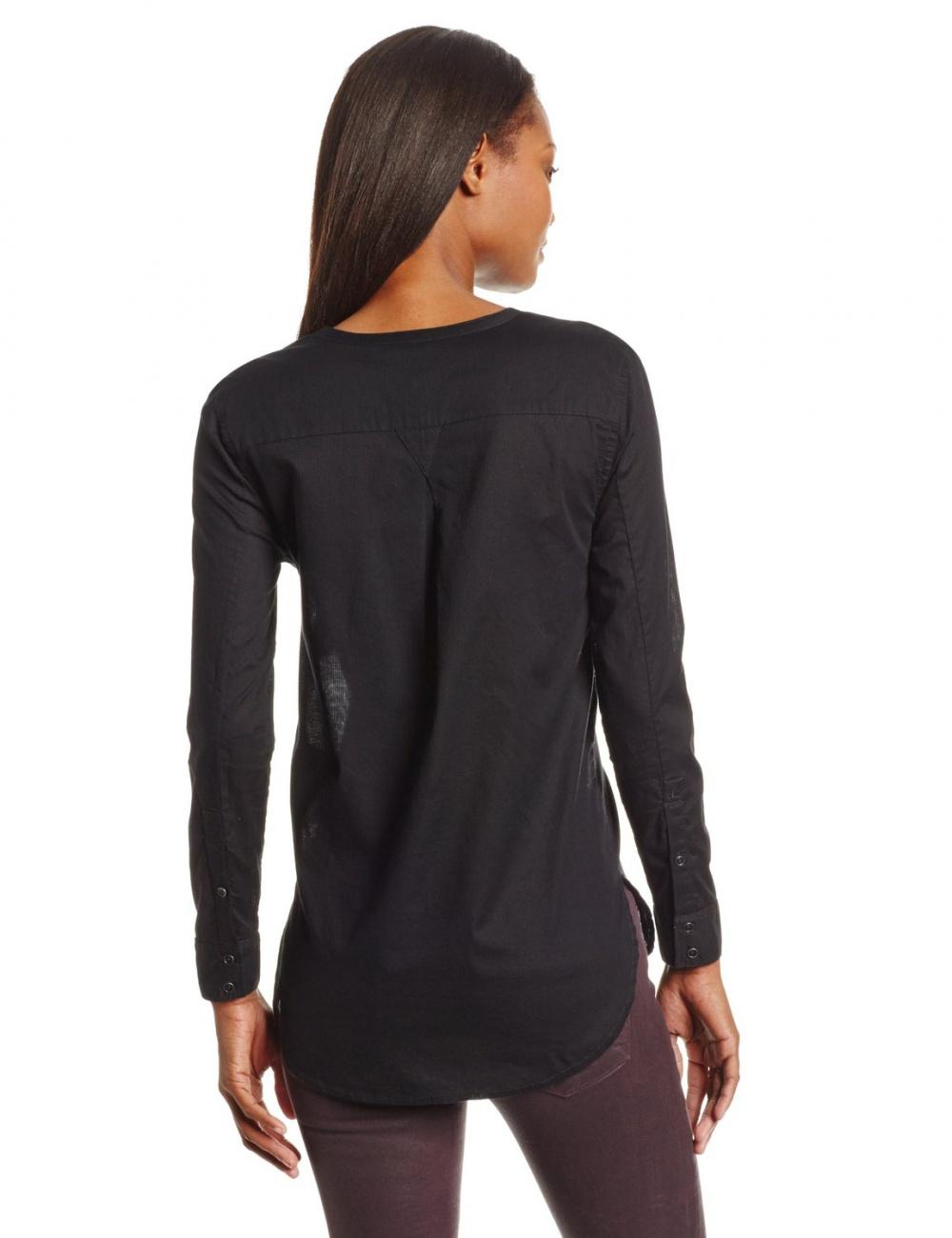 Чёрная рубашка Calvin Klein Jeans