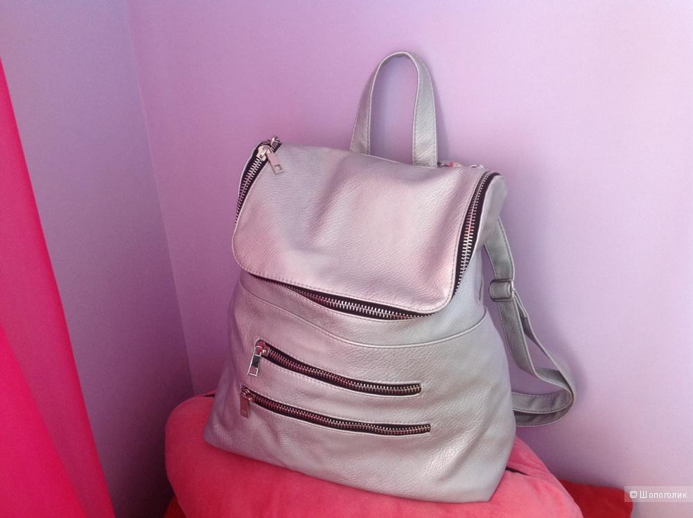 Серебряный рюкзак Asos