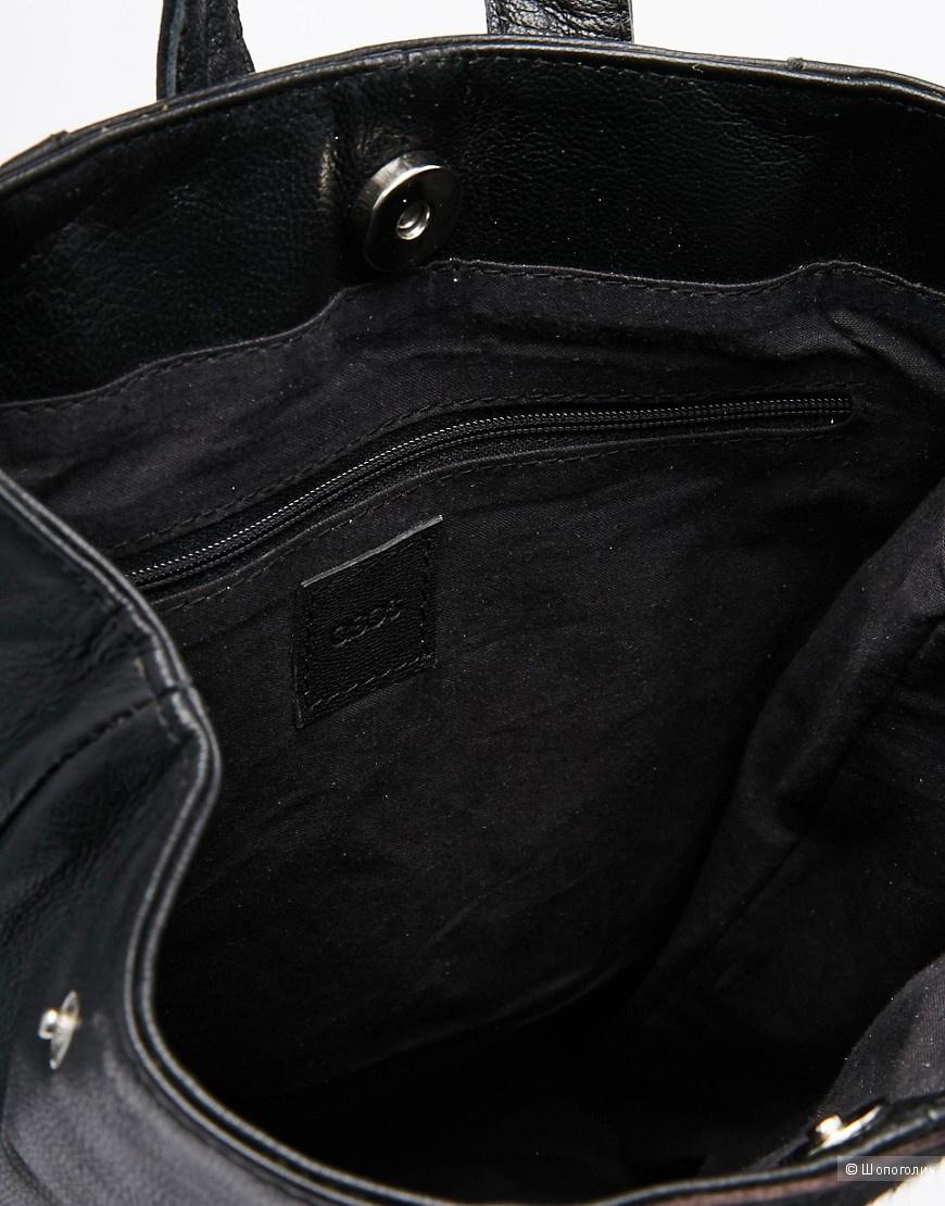 Кожаный рюкзак ASOS новый