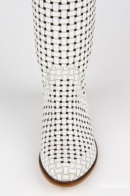 Летние кожаные сапоги Grand Style 38 р-р новые