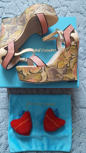 Потрясающие босаножки Jean-Michel Cazabat, 38 размер.
