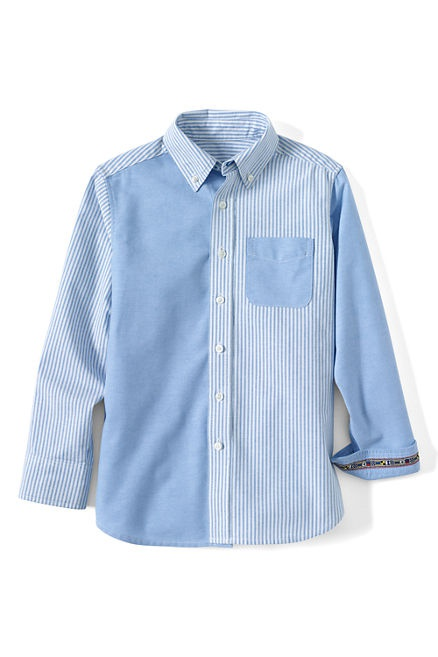 Новая рубашка LandsEnd на 8 - 9 лет