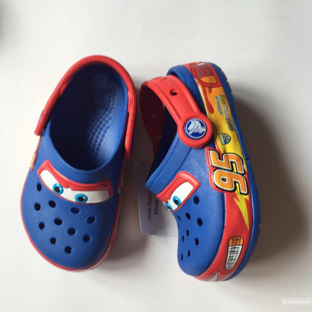 Crocs тачки мигающие