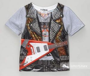 Крутая новая футболка  Рокер   Faux Real