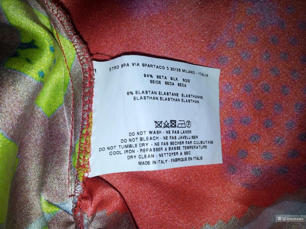 Шелковое платье Etro 42IT/44RU новое