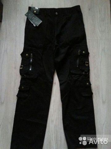Новые мужские брюки размер 34 L