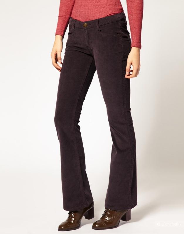 Вельветовые джинсы bootcut