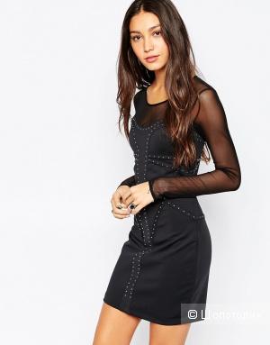 черное платье Pepe Jeans, 42-44 разм.