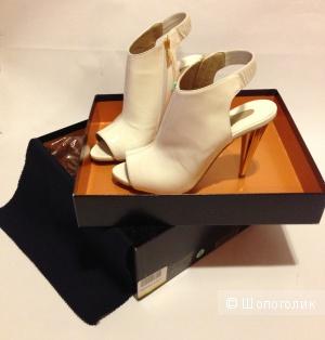 LE SILLA туфли с граненым каблуком р.37-37.5 Новы.Оригинал