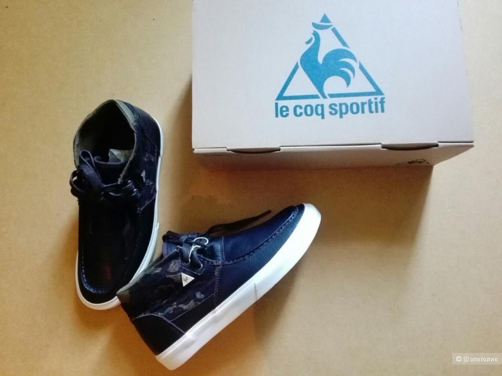 Кеды из кожи Le Coq Sportif оригинал, в коробке