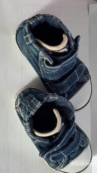 Джинсовые кеды размер 20,5 английской марки  LEE COOPER