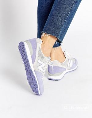 Серо-сиреневые кроссовки New Balance 996 UK6 новые