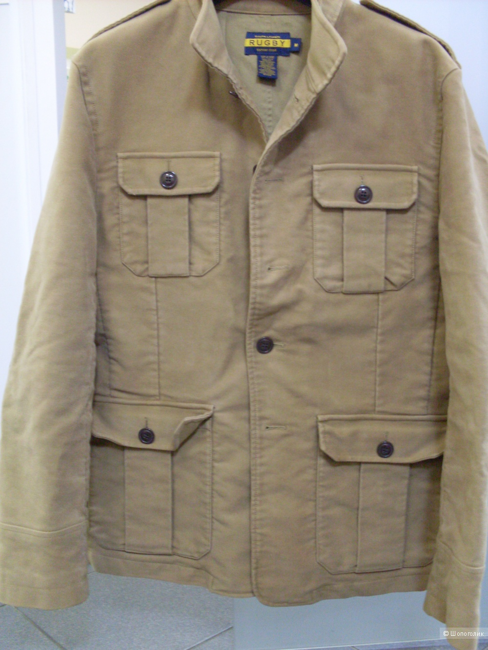 Куртка Rugby Ralph Lauren, размер М, в магазине Наш пристрой — на ... 3b634b21921