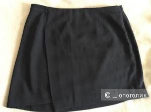 Юбка черная американского магазина Forever21 размер L на бедра 96-100 см
