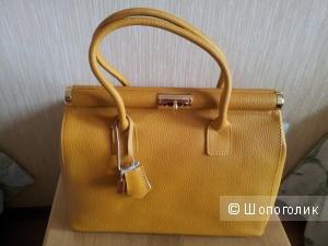 Кожаная сумка  FLORENCE BAGS новая