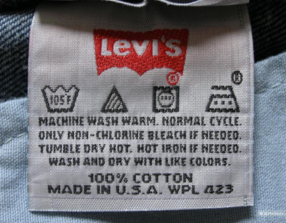 Джинсы Levi's 501 W26 L32 - MADE IN USA