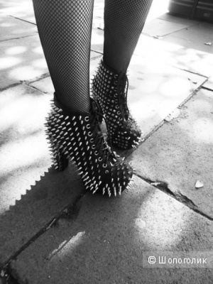 Ботинки Jeffrey Campbell Lita spike 2 новые оригинал