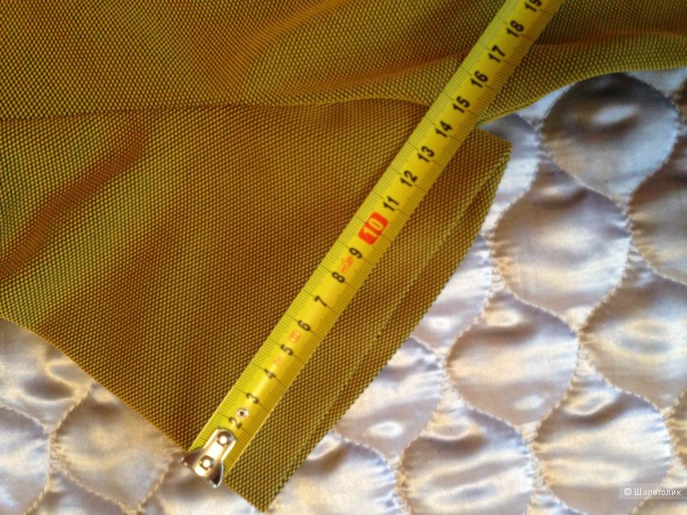 Платье цвета охры на 42 размер