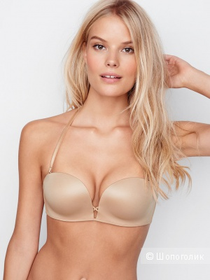 Бюстгальтер Victorias Secret, Add-2-Cups Multi-Way Push-Up Bra, 32С, цвет Almost nude