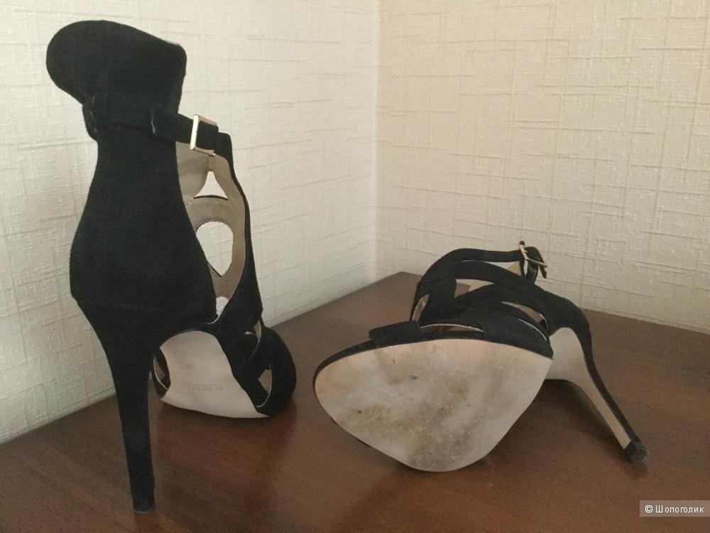 Туфельки Zara натуральная замша, маркировка 37