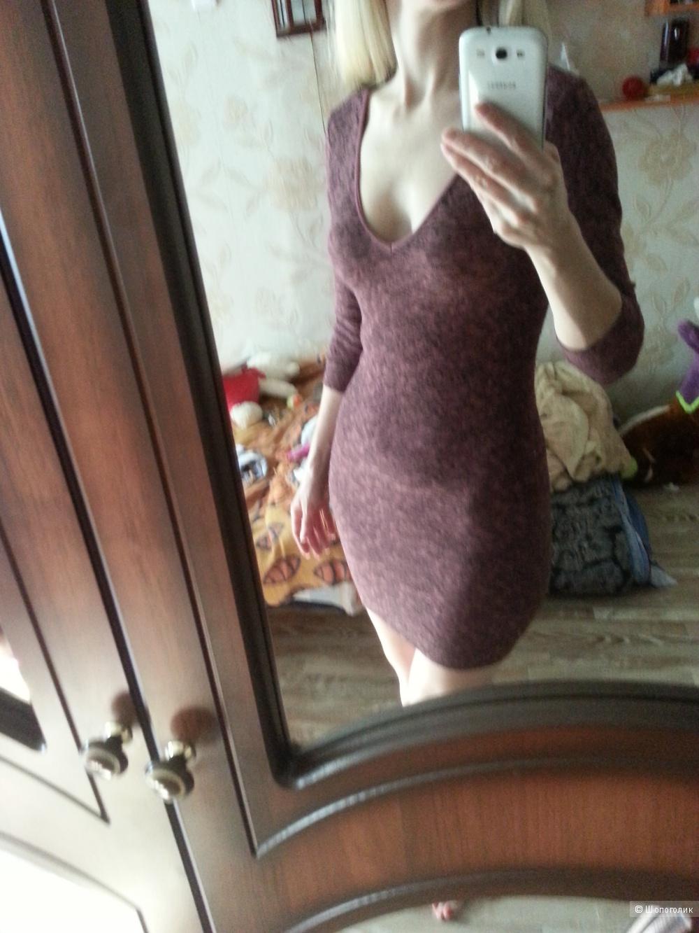 BCBGeneration бесшовное платье. В цвете Light Vine.