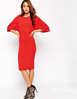 Облегающее платье с  рукавами- кимоно ASOS