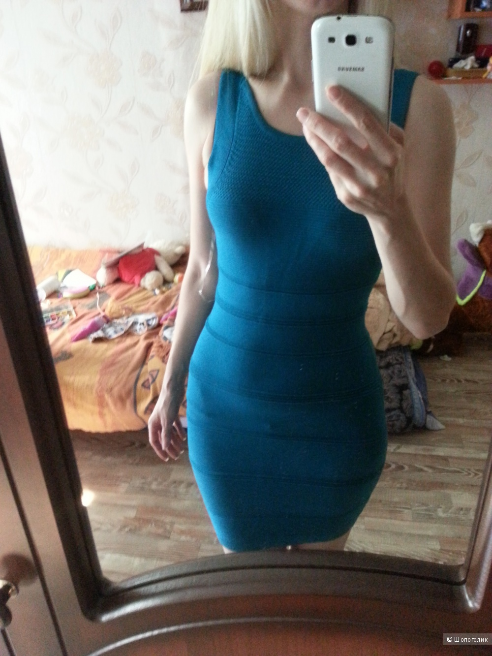 WOW COUTURE бандажное платье