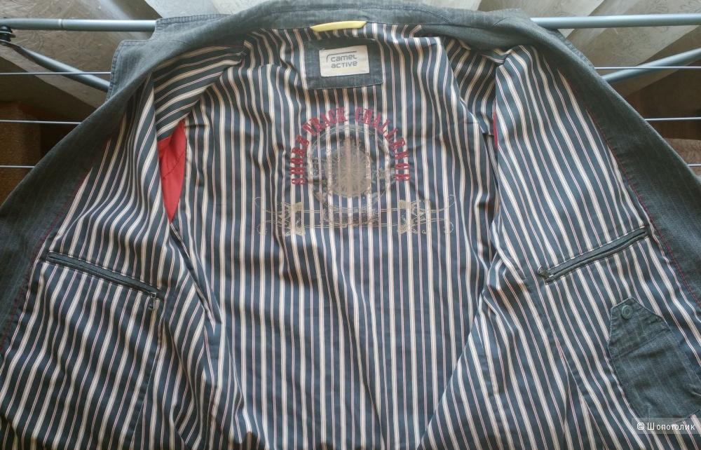 Мужской пиджак немецкий бренд Camel Active, рост 183-188 размер Gr 102