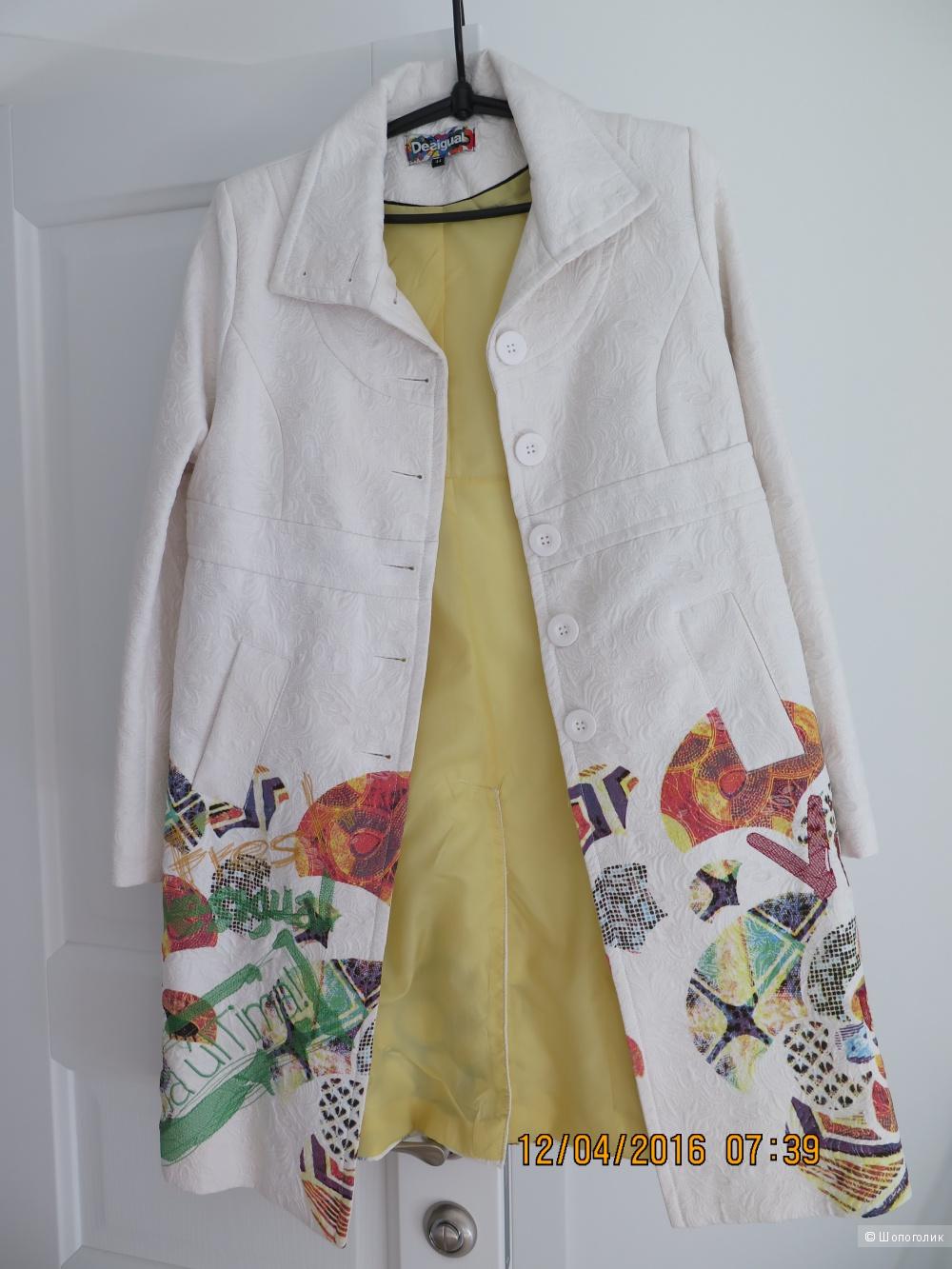Пальто летнее Desigual